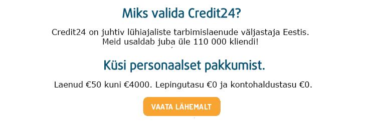 Credit24 kiirlaen